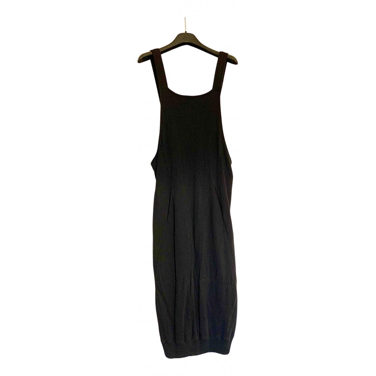 Thom Krom \N Kleid in  Schwarz Baumwolle