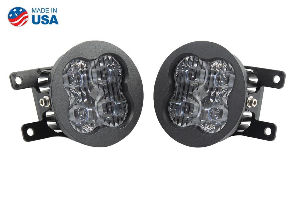 Diode Dynamics DD6176-ss3fog-1093-GBFG SS3 LED Fog Light Kit for 2010-2018 Ford Transit Connect White SAE/DOT Driving Sport
