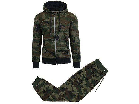 Men's Fleece Hoodie & Jogger Set