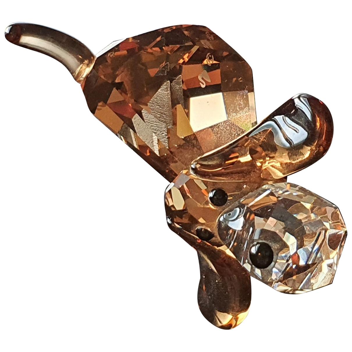 Swarovski \N Accessoires und Dekoration in  Braun Kristall