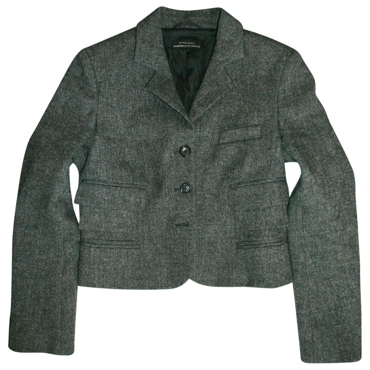Strenesse \N Jacke in Wolle