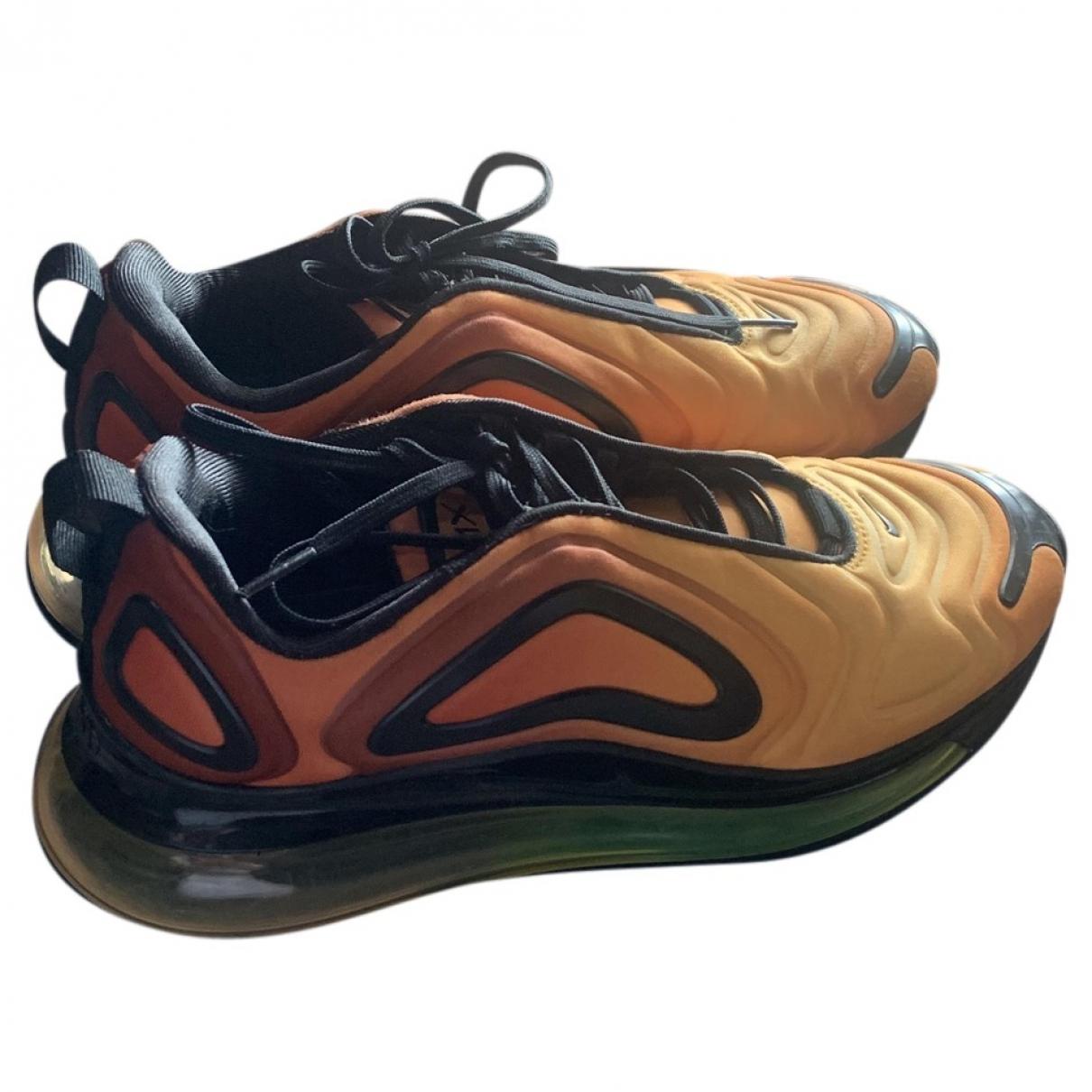 Nike Air Max 720 Sneakers in  Orange Kautschuk
