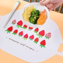 Tischset mit Erdbeere Muster