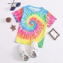 T-Shirt mit Batik