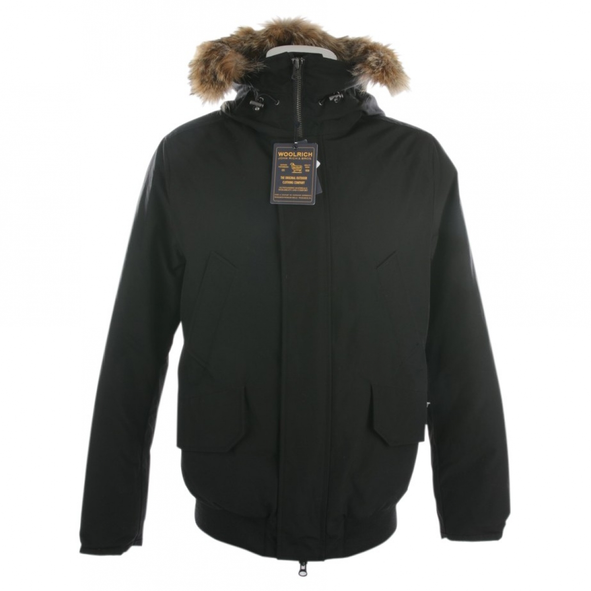 Woolrich \N Black Cotton jacket for Women 38 FR