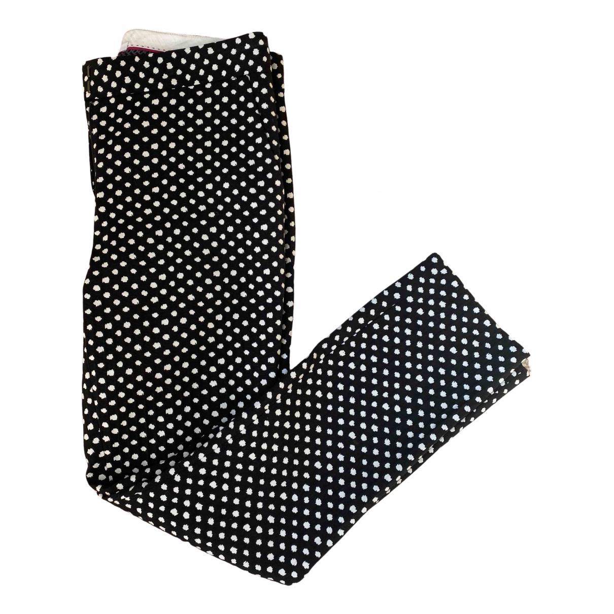 Diane Von Furstenberg \N Black Trousers for Women 6 US
