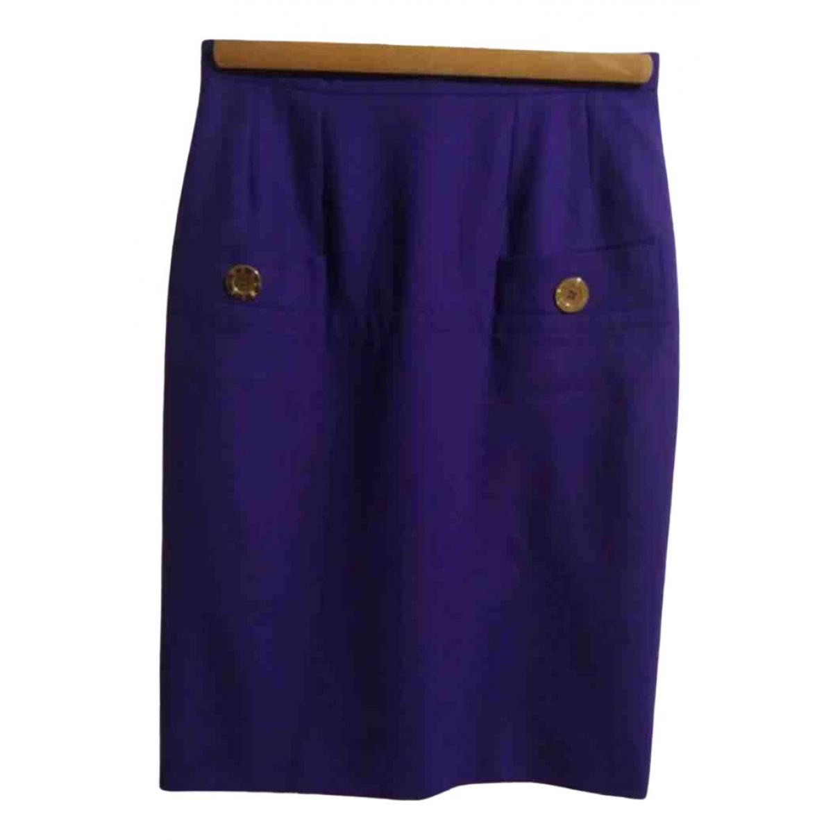 Falda midi de Lana Givenchy