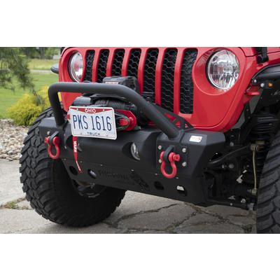 Fishbone Offroad Stubby Front Winch Bumper - FB22178