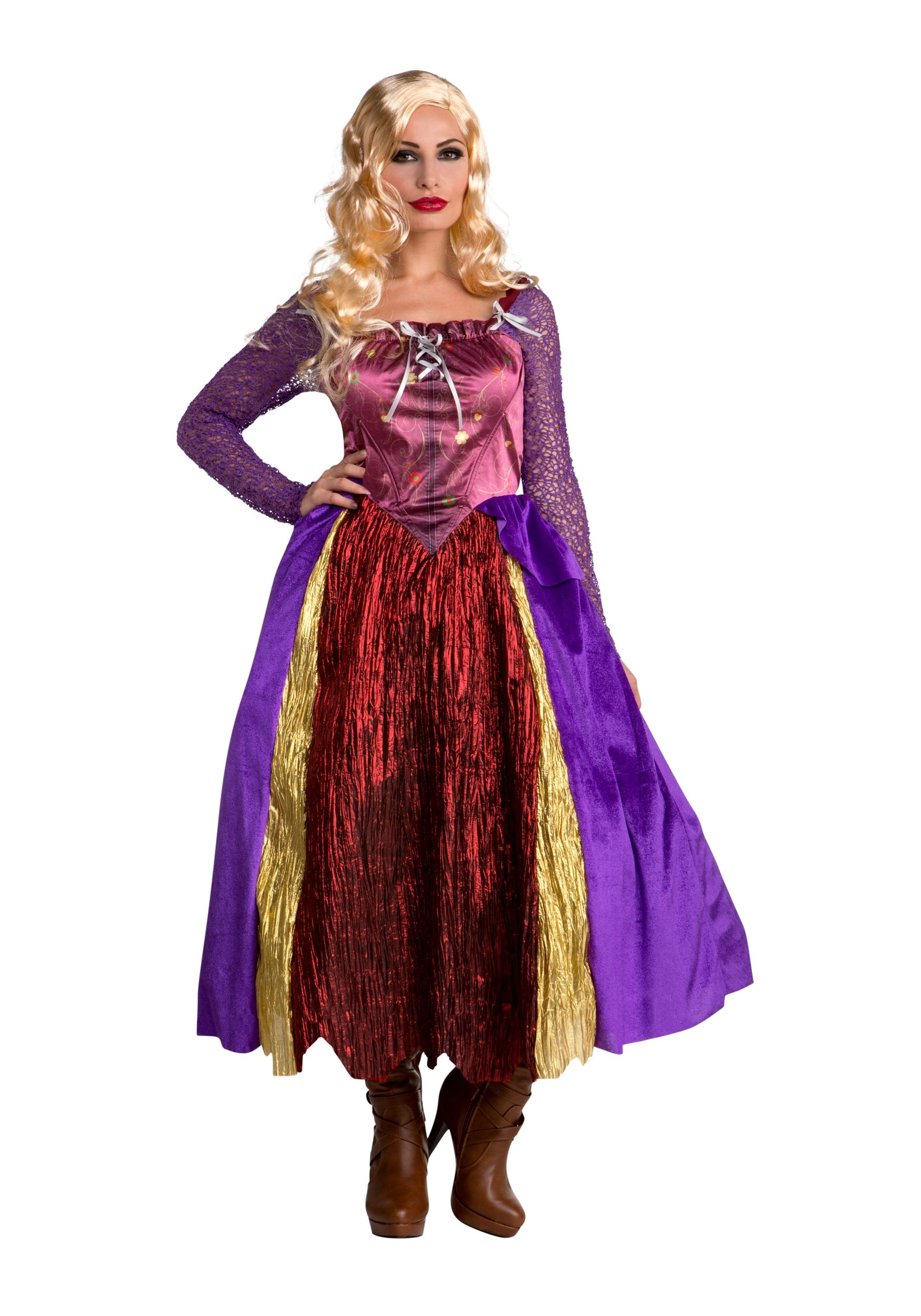 Silly Salem Sister Witch Costume for Women