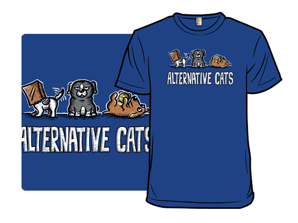 Alternative Cats T Shirt