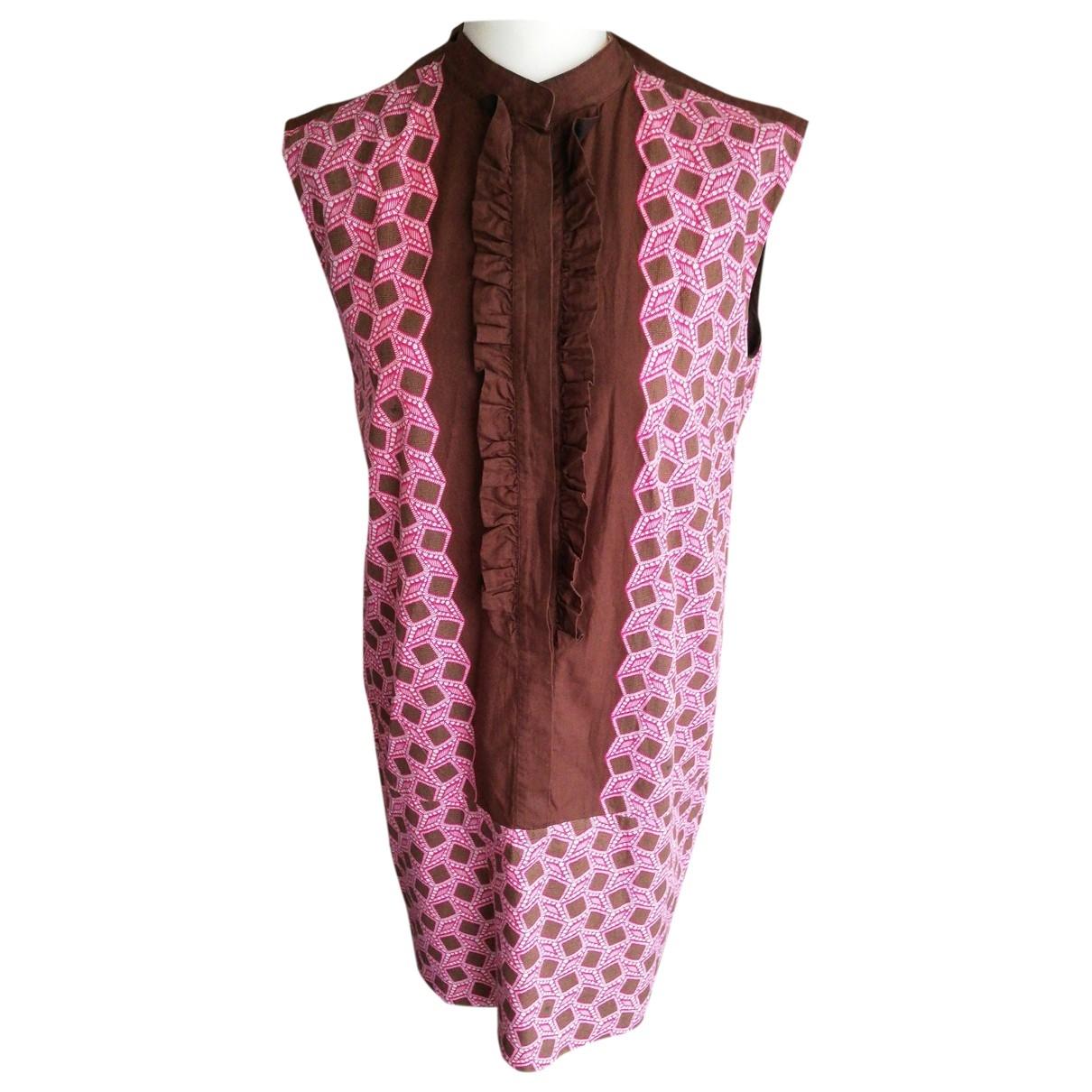 Louis Vuitton \N Multicolour Cotton dress for Women 40 FR