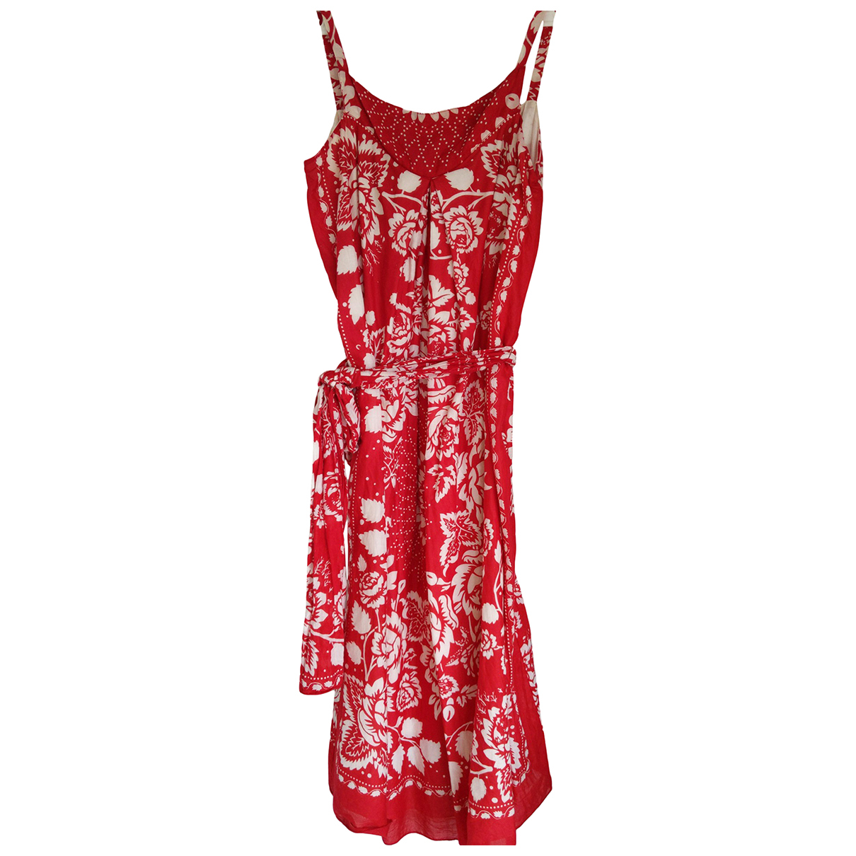 Anna Sui N Red Cotton dress for Women 6 US