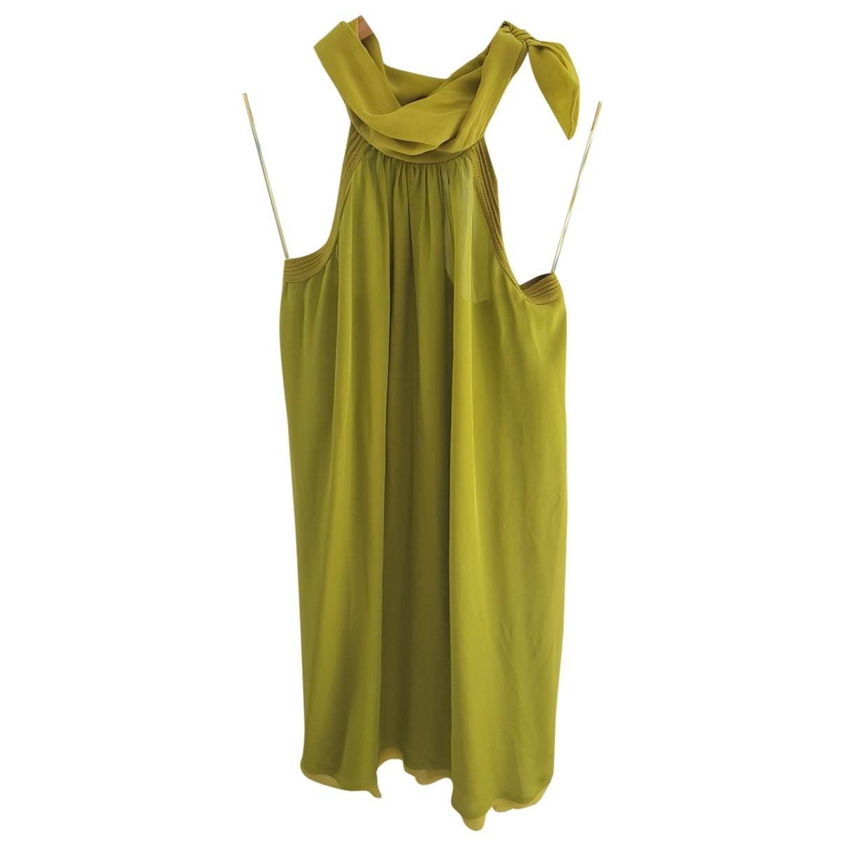Iceberg \N Green Silk dress for Women XS International