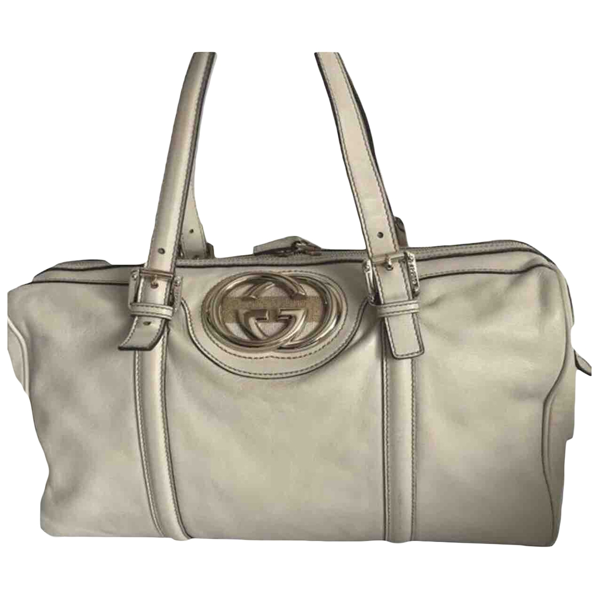Gucci \N Ecru Leather handbag for Women \N