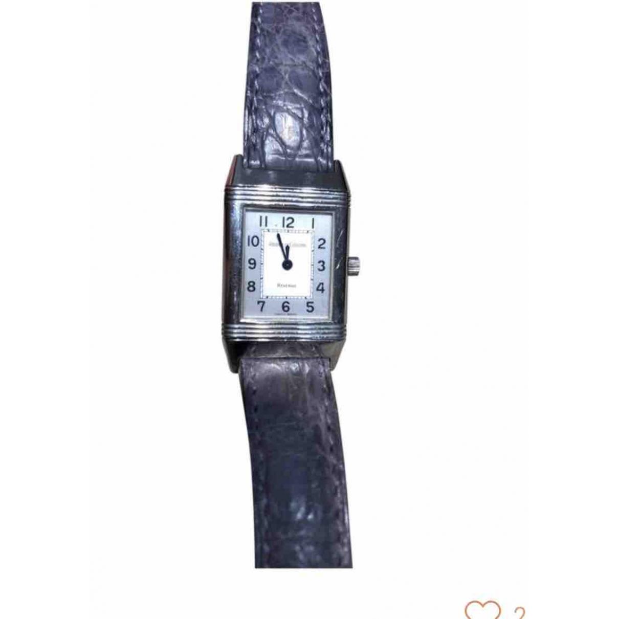 Jaeger-lecoultre Reverso Uhr in  Silber Stahl