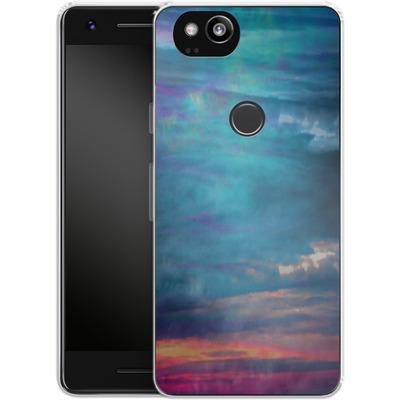 Google Pixel 2 Silikon Handyhuelle - Ocean Sky von Amy Sia