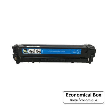 Compatible HP 128A CE321A cartouche de toner cyan - boite economique