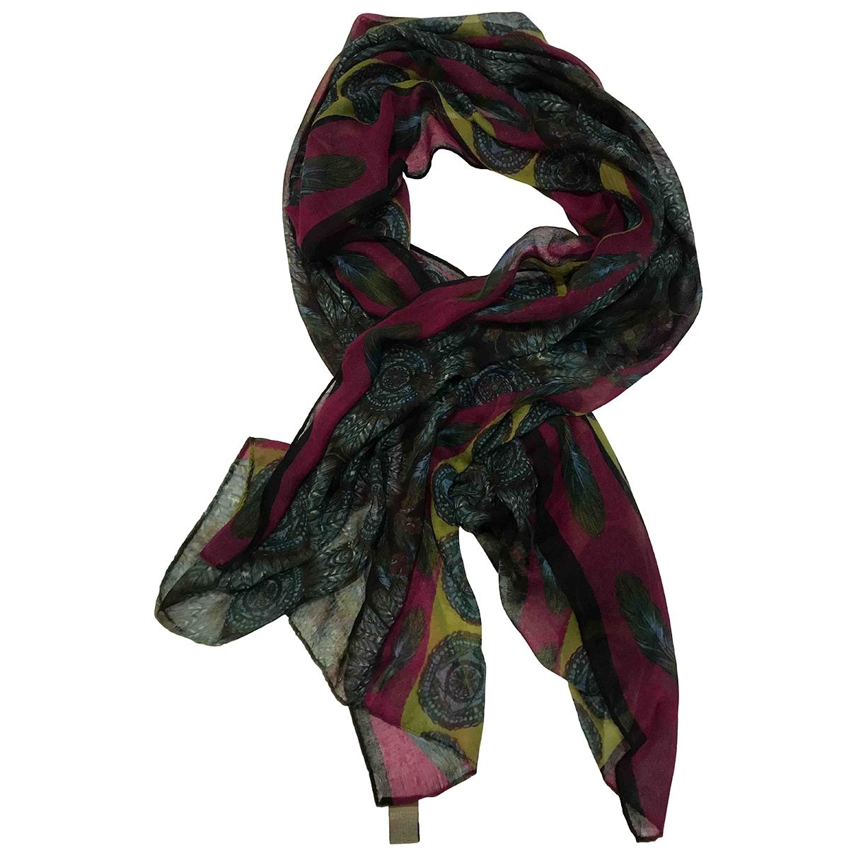 - Foulard   pour femme en cachemire - multicolore