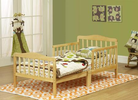 401N Solid Wood Toddler Bed in