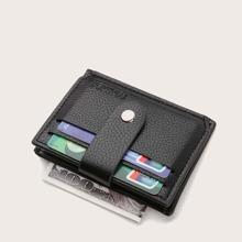 Snap Button Card Holder