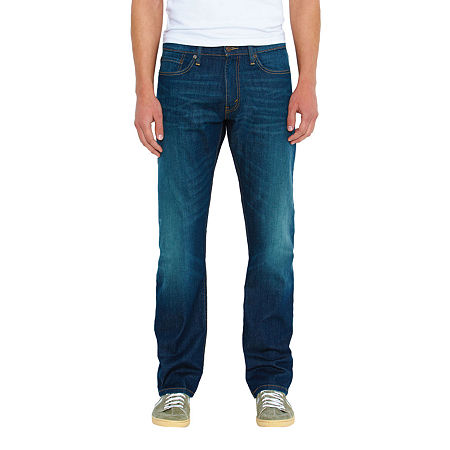 Levi's Men's 514 Straight Fit Jeans, 42 32, Blue