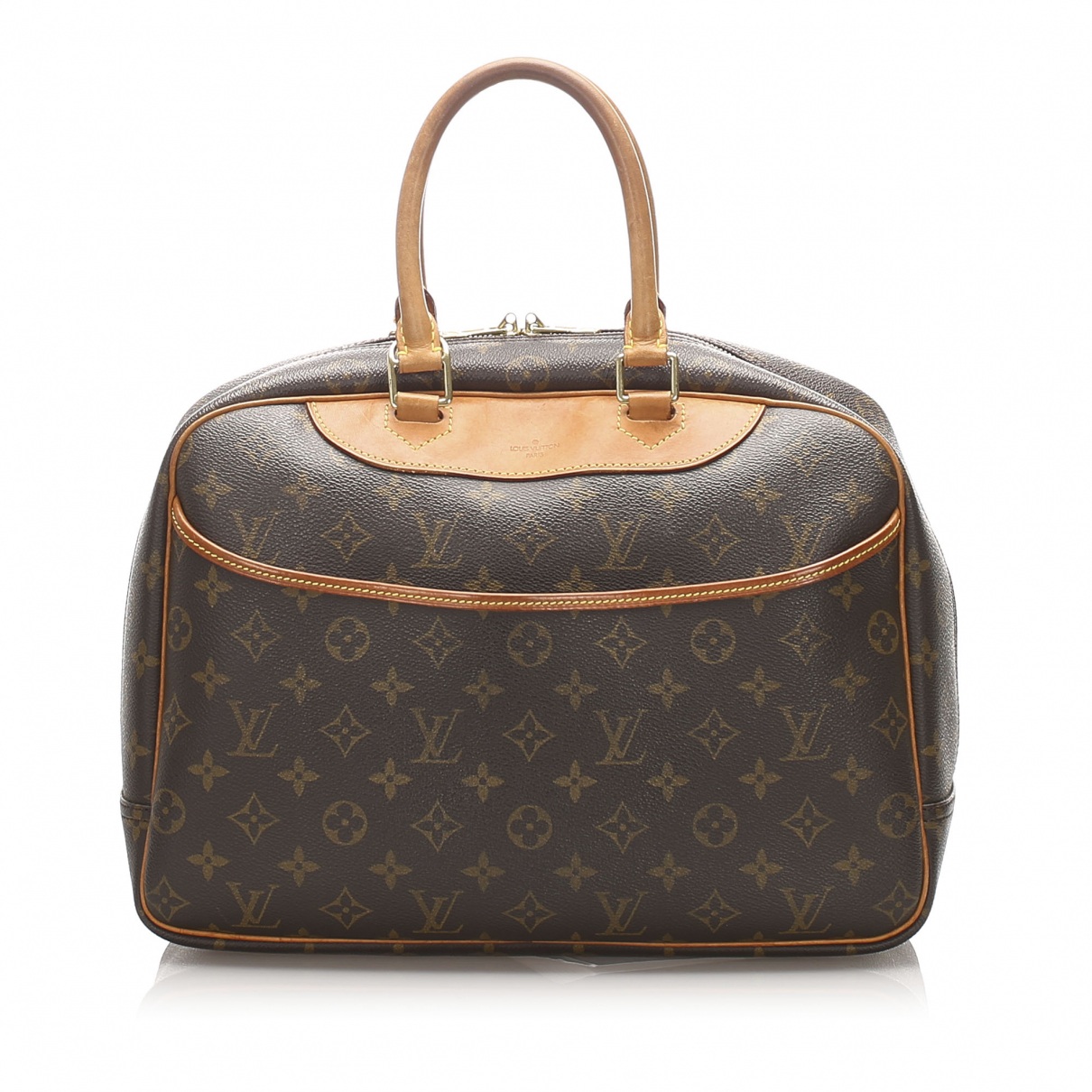 Bolso Deauville de Lona Louis Vuitton