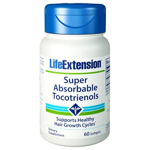 Super-Absorbable Tocotrienols 60 softgels by Life Extension