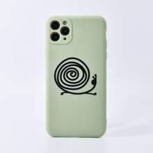 Snails Print iPhone Case