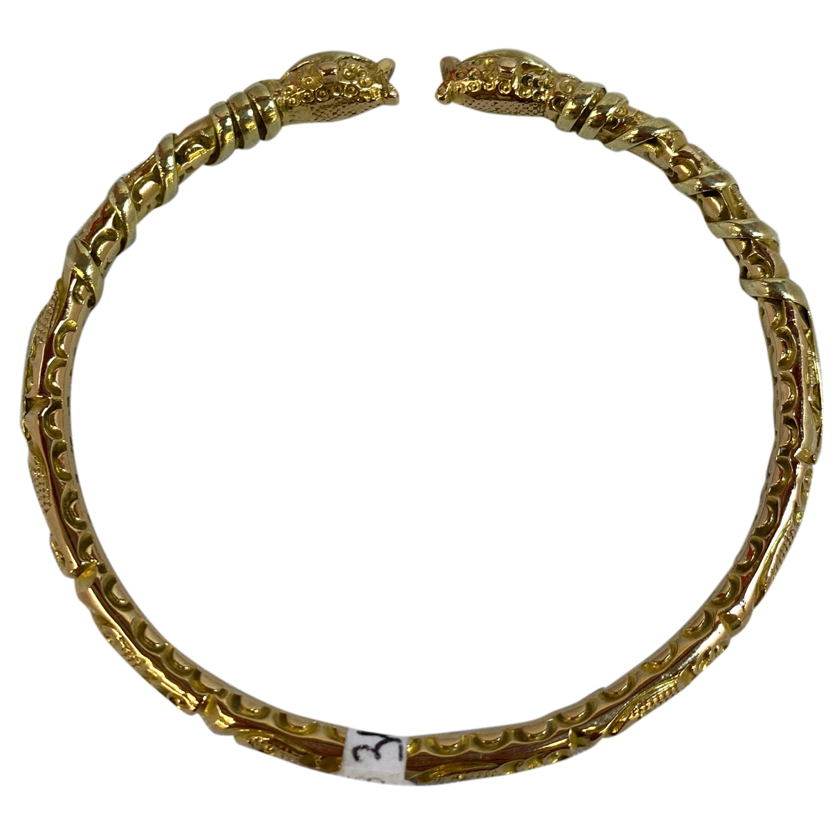 Non Signé / Unsigned N Gold Yellow gold bracelet for Women N