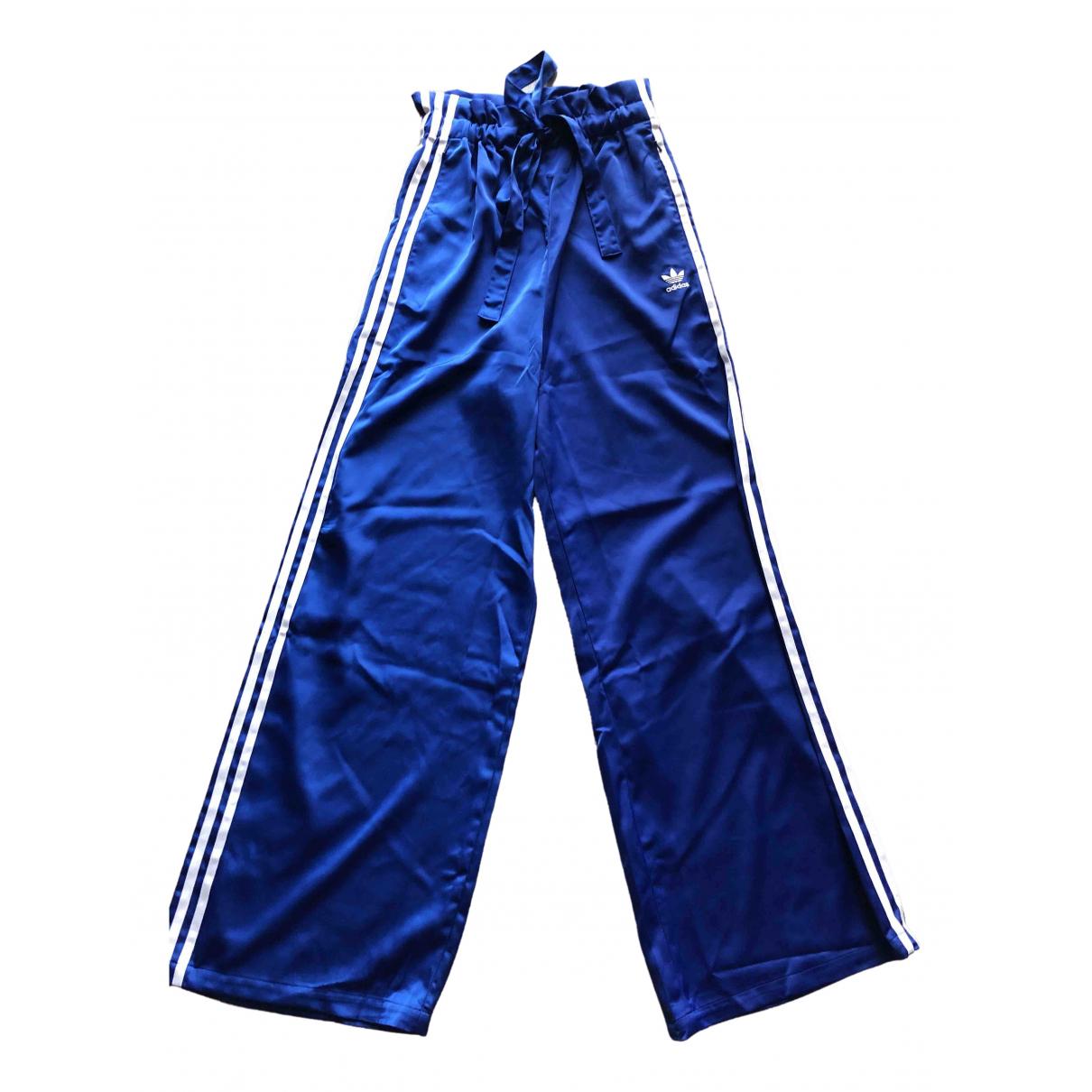 Adidas - Pantalon   pour femme - bleu