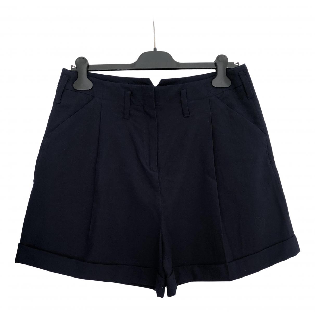 Max & Co \N Shorts in  Blau Viskose