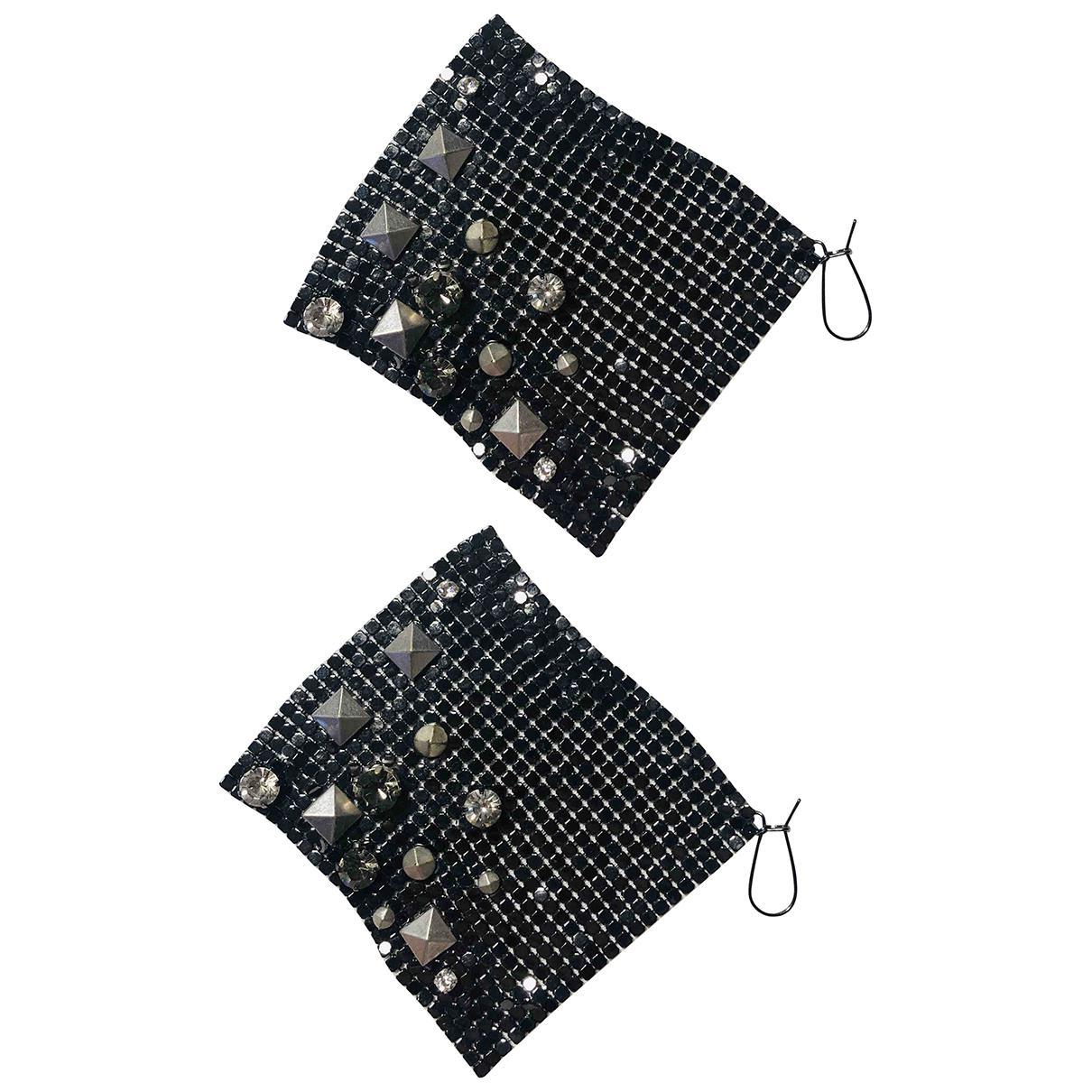 Jimmy Choo For H&m - Boucles doreilles   pour femme en metal - noir
