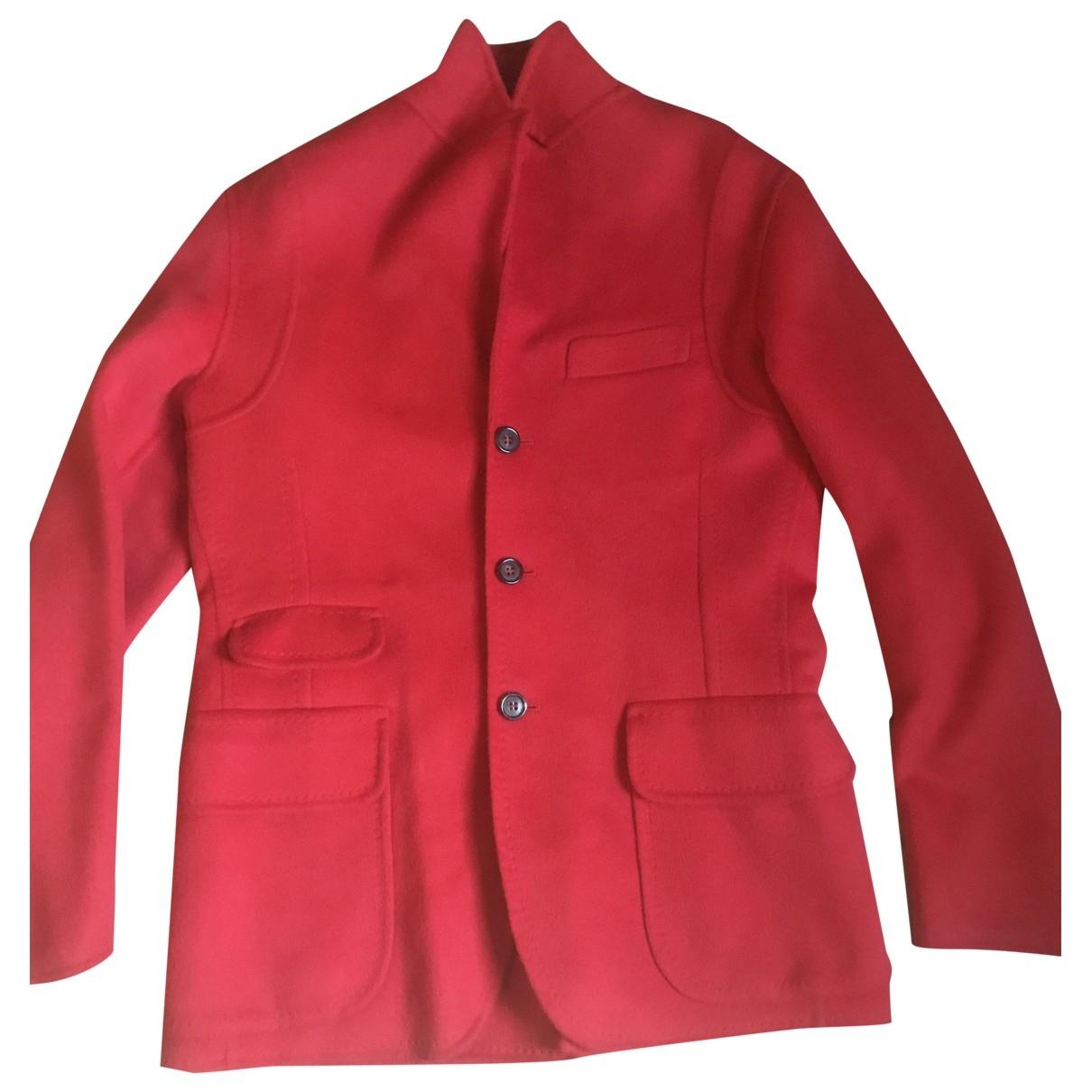 Dsquared2 - Vestes.Blousons   pour homme en laine - rouge