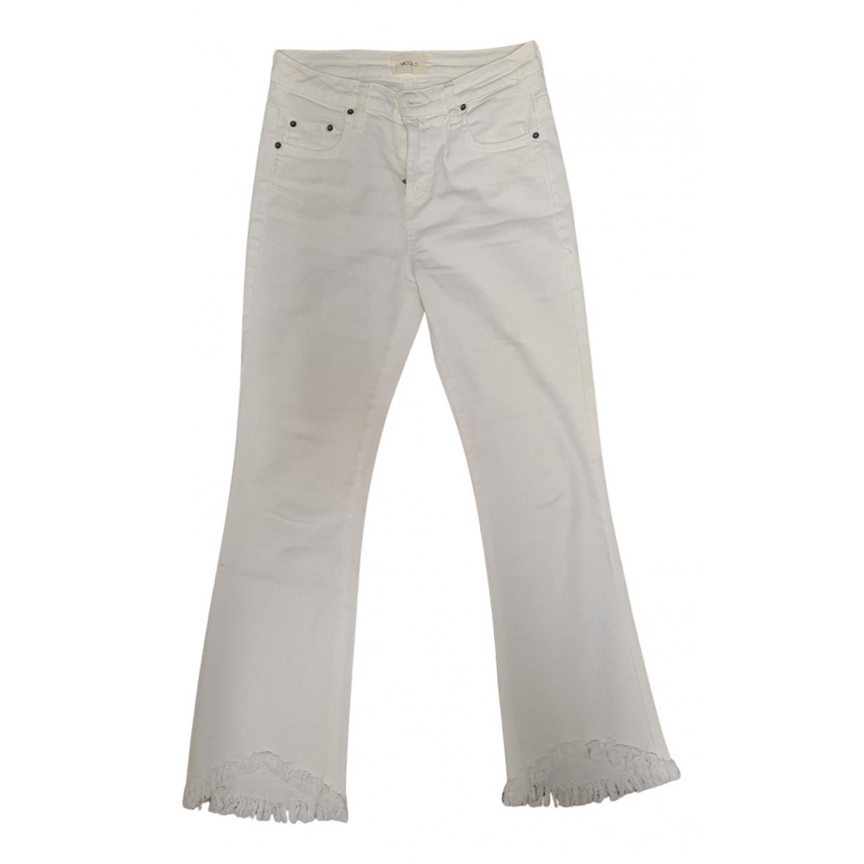 Vicolo N White Denim - Jeans Trousers for Women S International