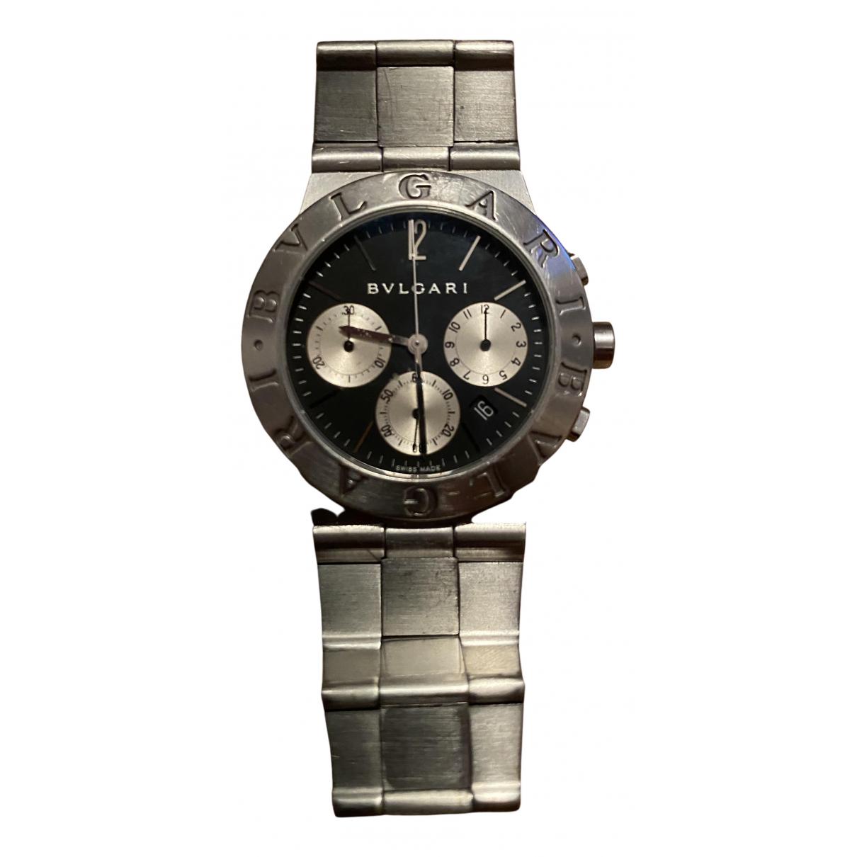 Bvlgari Diagono Uhr in  Silber Stahl