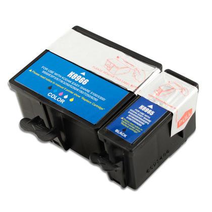 Compatible Kodak ESP 3 Ink Kodak 10XL 8965 8966 Black and Color Combo High Yield
