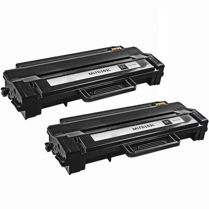 Compatible Samsung MLT-D103L cartouche de toner noire haute capacite - boite economique - 2/paquet