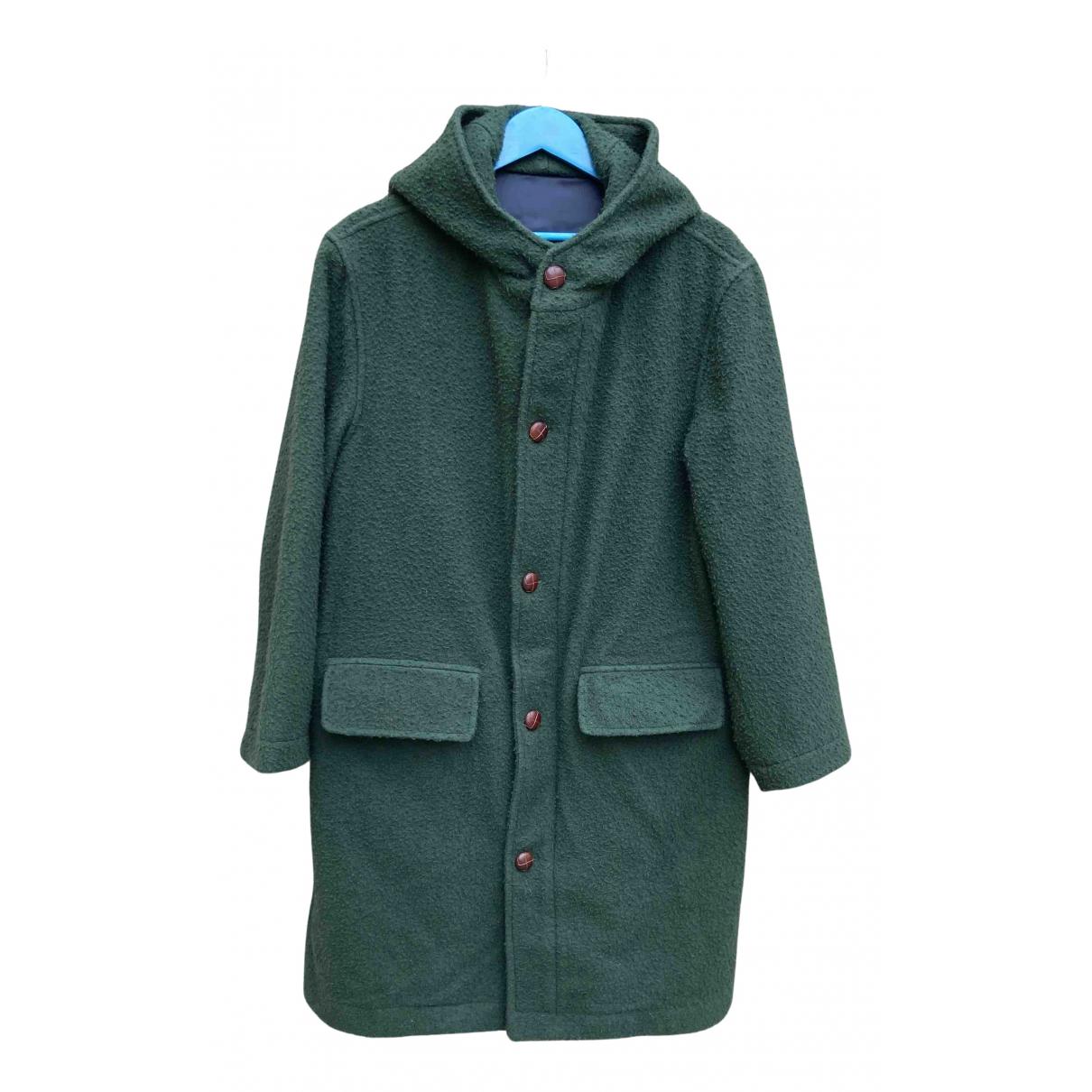 - Manteau   pour homme en laine - vert