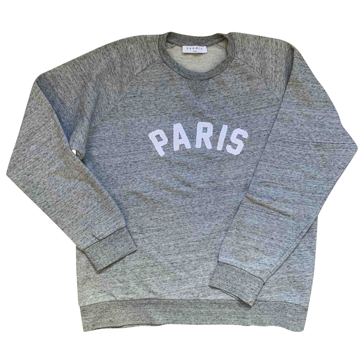 Sandro \N Grey Cotton Knitwear & Sweatshirts for Men XL International