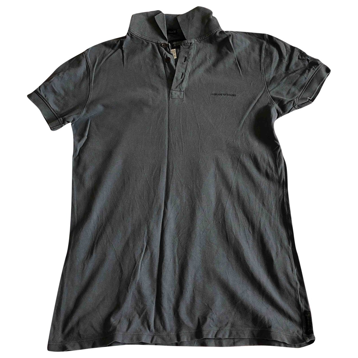 Armani Jeans \N Blue Cotton Polo shirts for Men M International