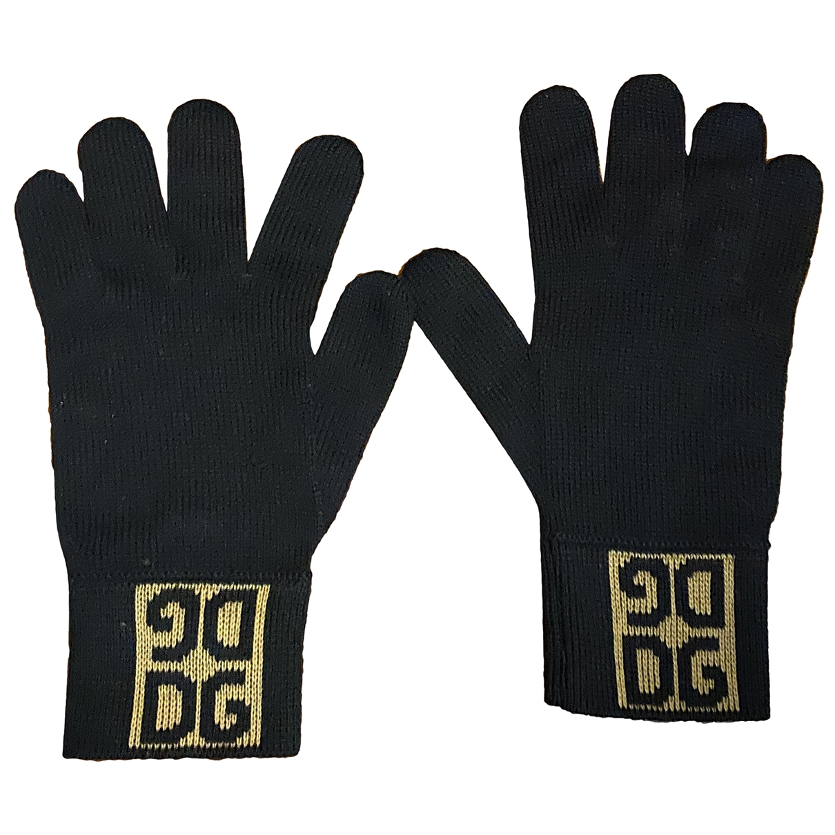 Dolce & Gabbana \N Black Wool Gloves for Women M International