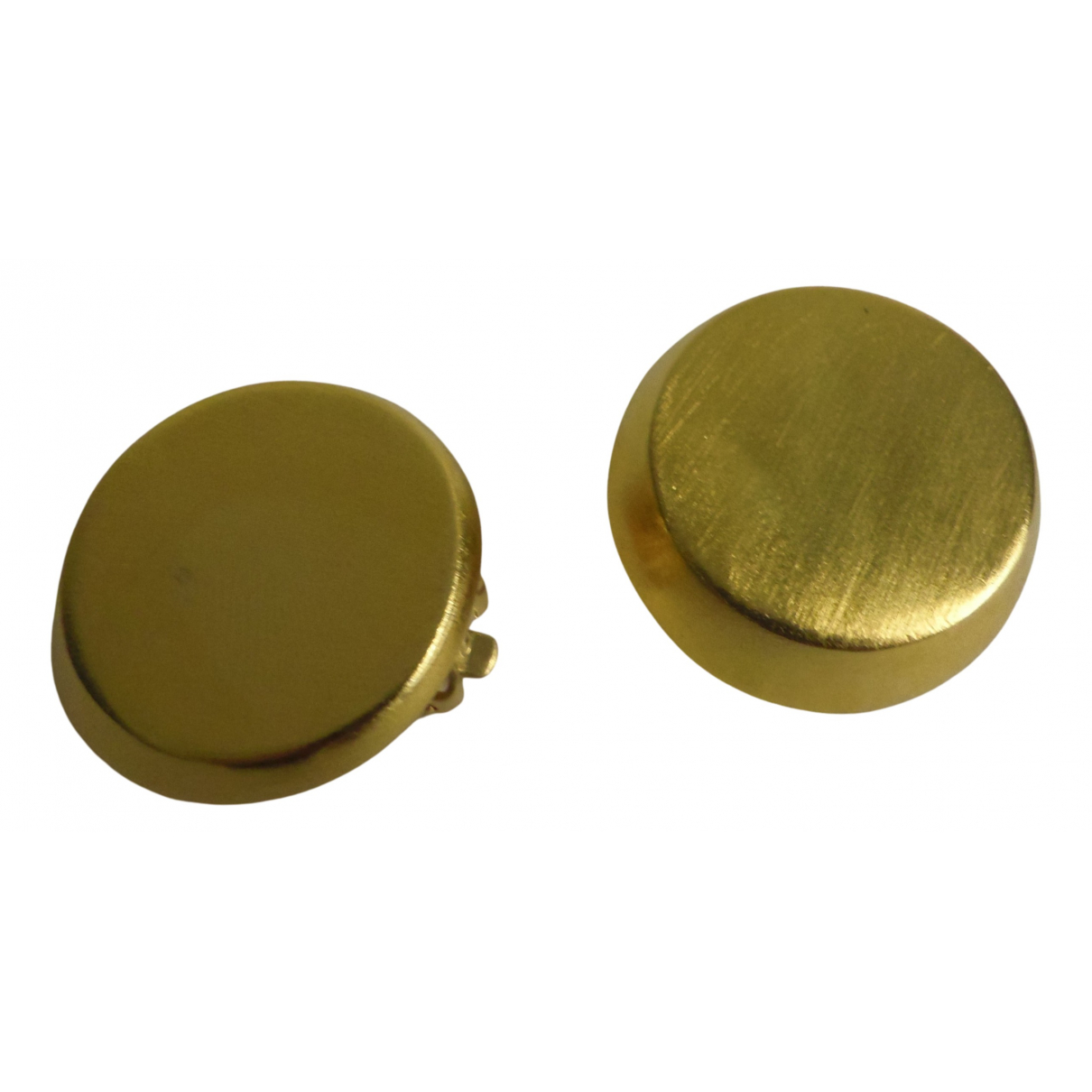 Donna Karan \N OhrRing in  Gold Metall