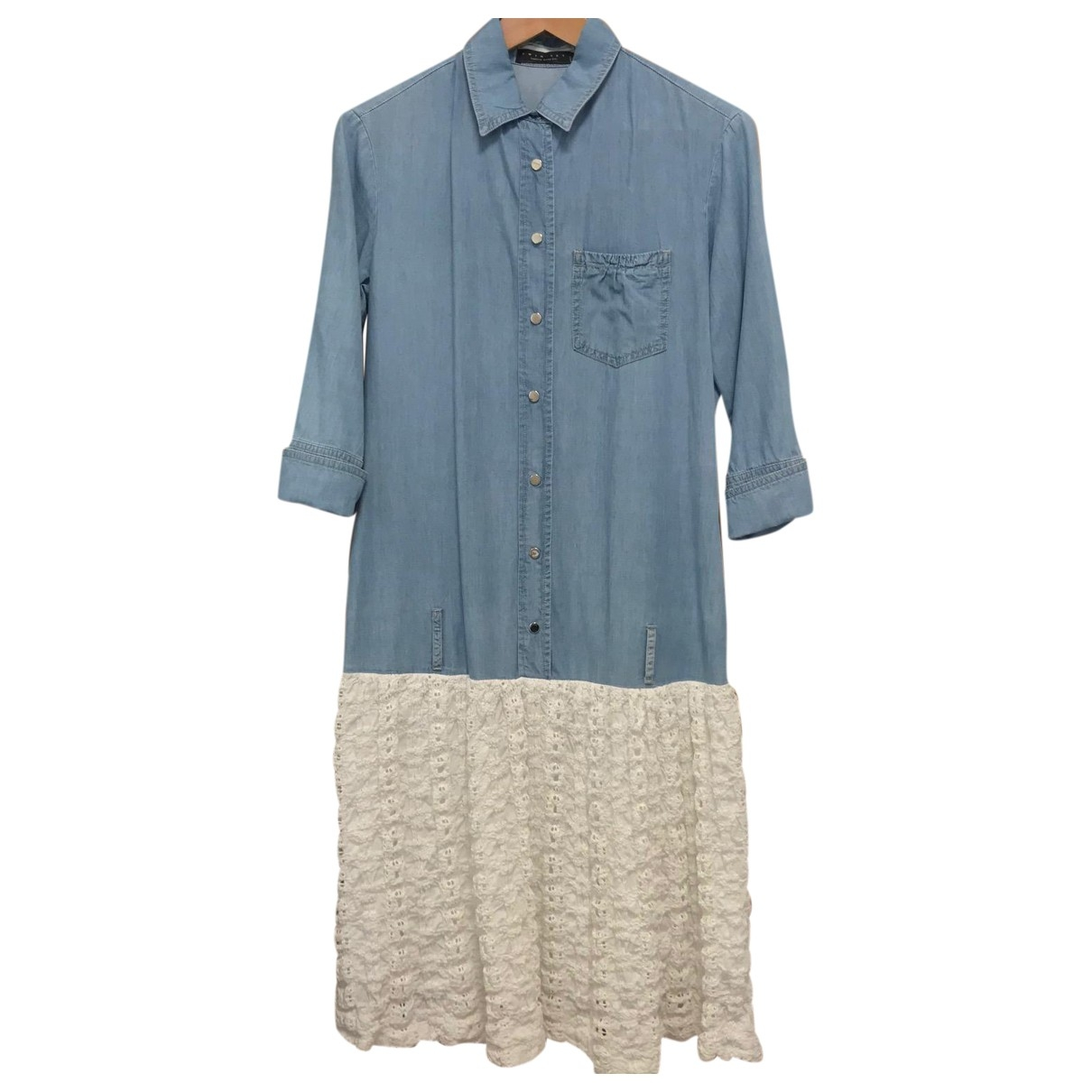 Twin Set - Robe   pour femme en denim