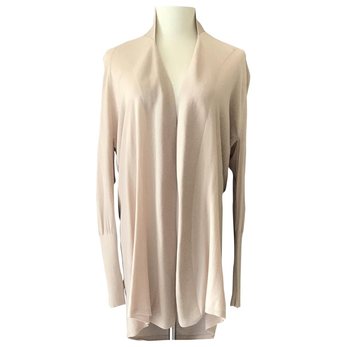 Reiss - Pull   pour femme en coton - rose