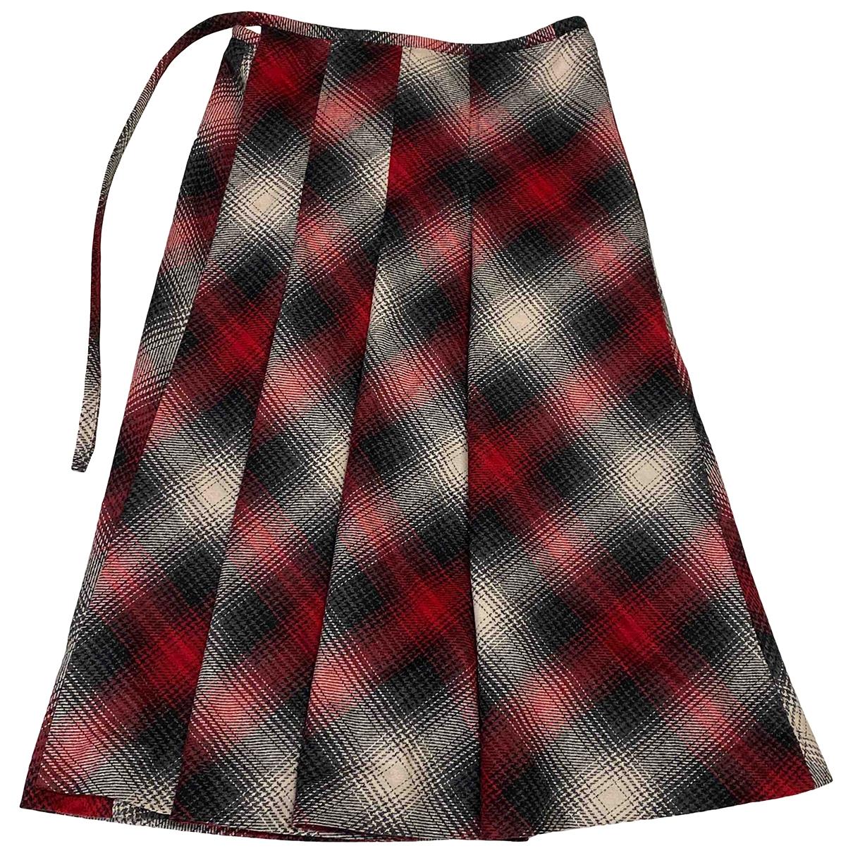 Max & Co - Jupe   pour femme en laine - multicolore