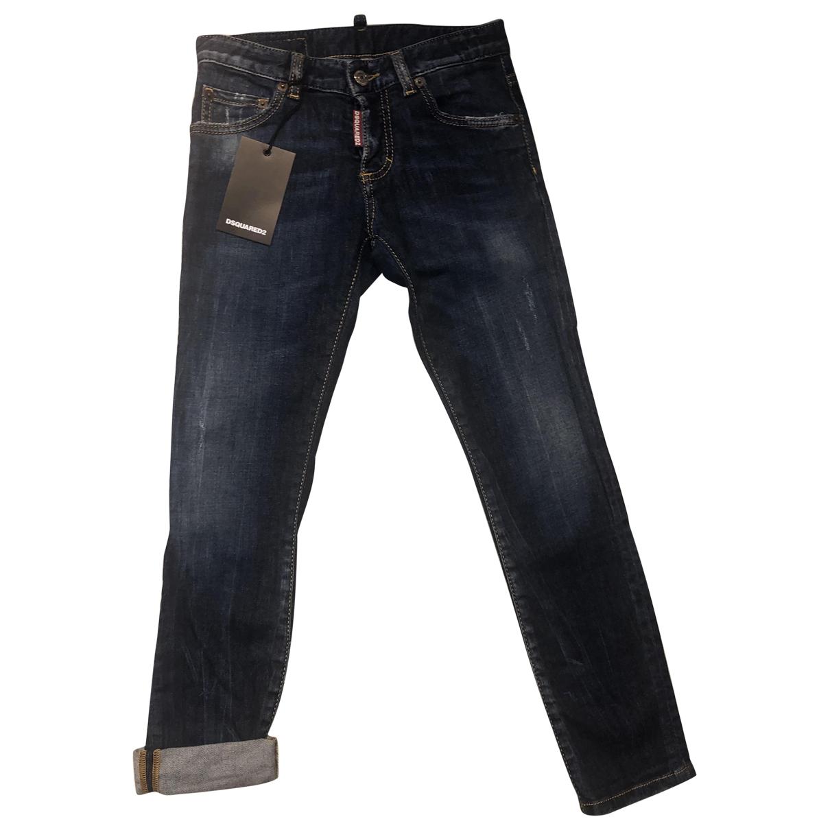 Dsquared2 - Pantalon   pour enfant en denim - bleu
