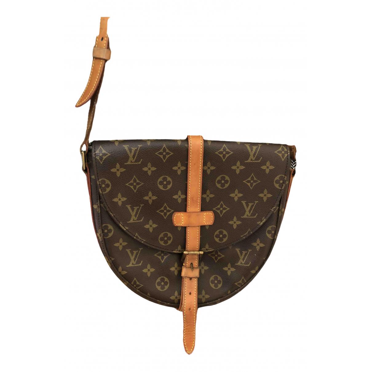 Louis Vuitton Chantilly Brown Cloth handbag for Women N