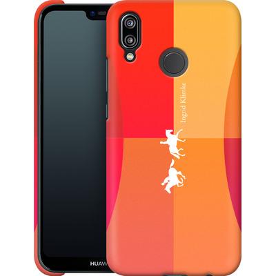 Huawei P20 Lite Smartphone Huelle - Geometric Silhouette von Ingrid Klimke