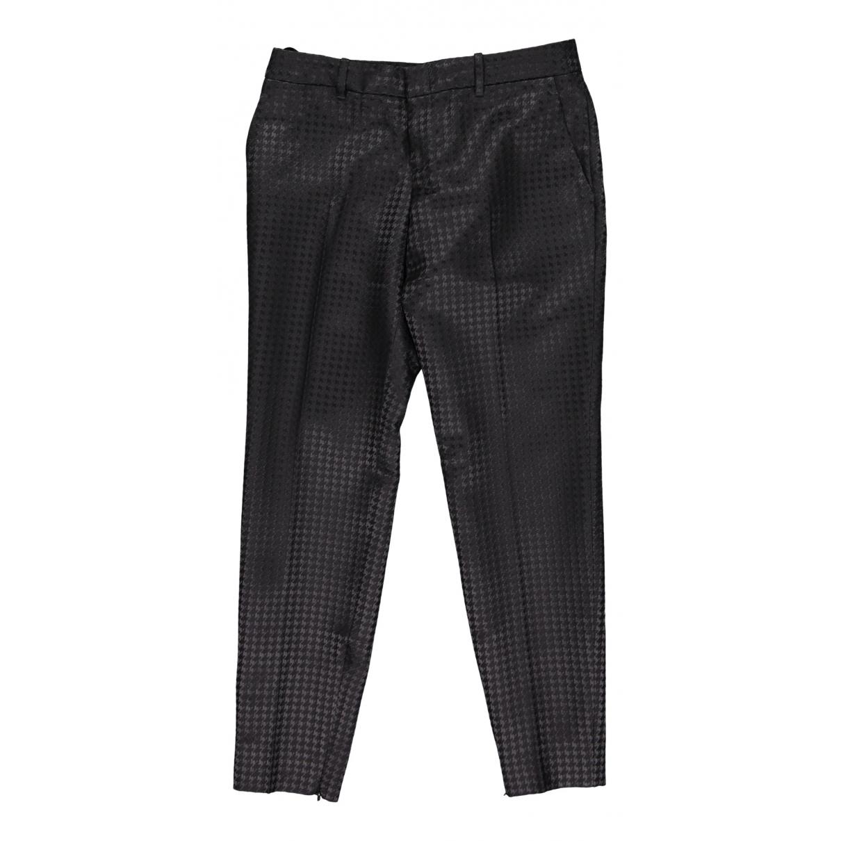 Pantalon recto de Lana Gucci
