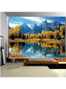 Lake in the Mountains 3D Printed Roller Shades